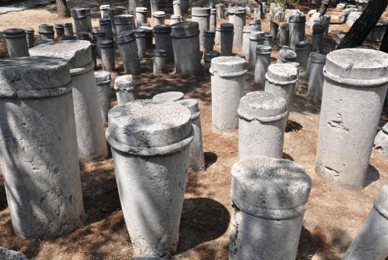 Cemetery of Kerameikos in Athens
