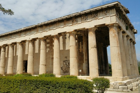 Place of ancient agora in Athen