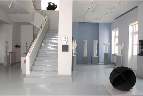Museum Alex Mylona exhibition room in the macedonian Museum of Contemporary Art