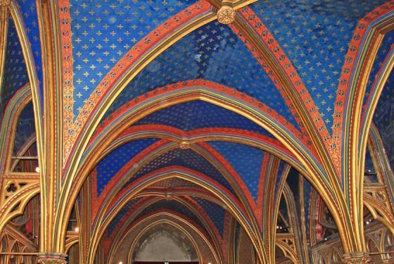 Sainte Chapelle in Paris architecture