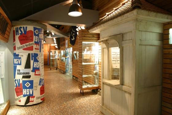 HSV advertising column in the HSV Museum