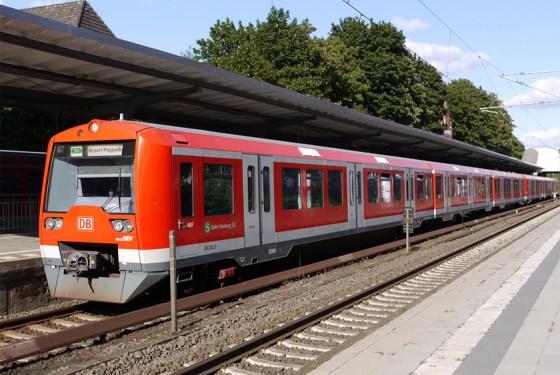 S-Bahn of the HVV