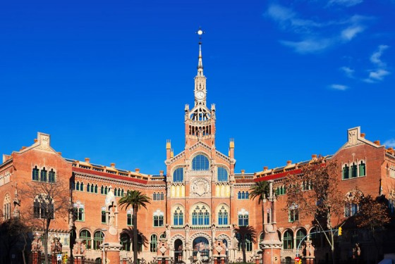 A wonderful building of the modernisme in Barcelona