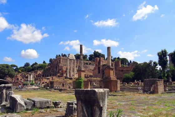 Palatine Hill in Rome