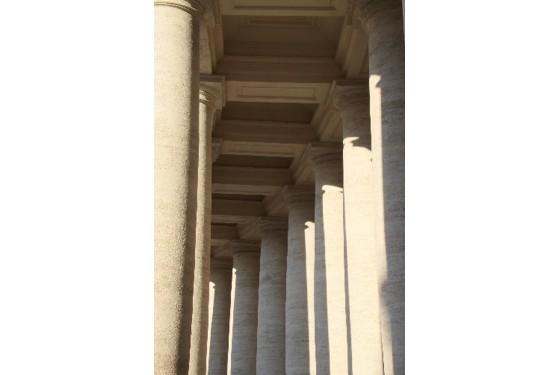 Museo Missionario Etnologico many columns