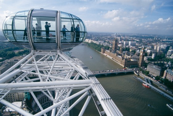 View out of the London Eye