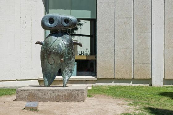Fundacio Joan Miro Skulptur