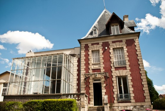 Front view of the maison d Auguste Rodin meudon in paris