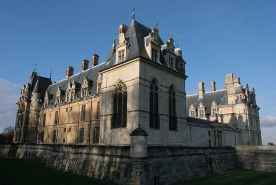 View from the Chateau de Ecouen in Paris