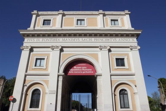 Museo della Repubblica Romana e della memoria garibaldina entrance