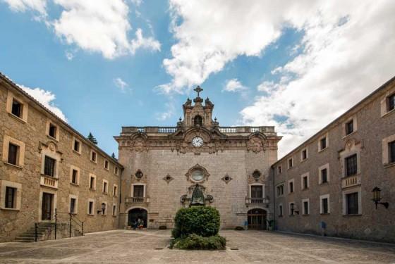 The pilgrimage church of Santuari de Lluc