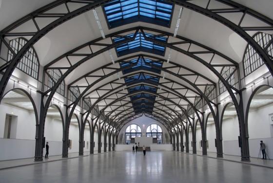 Interior of the Hamburger Bahnhof