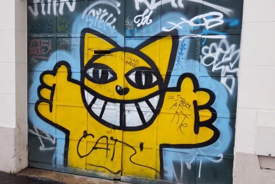 Street Art and Flohmarkt Tour of Paris with Nekovisit