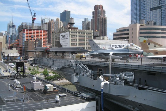 Intrepid Planes on Carrier