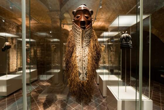 Exhibit of the Museu de Cultures del Món in Barcelona