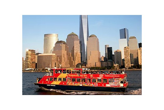 Gray Line CitySightseeing Hop-on-hop-off boat tour