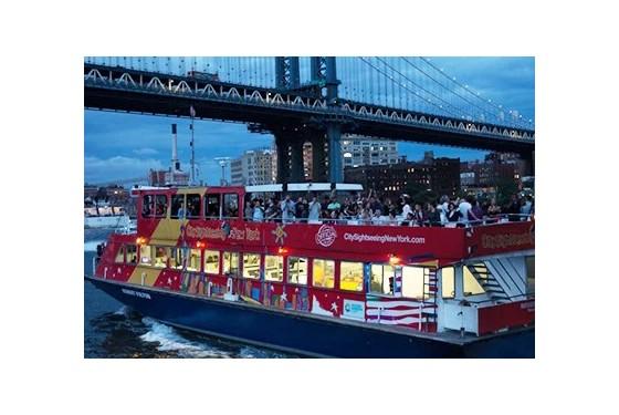 Gray Line CitySightseeing sunset cruise