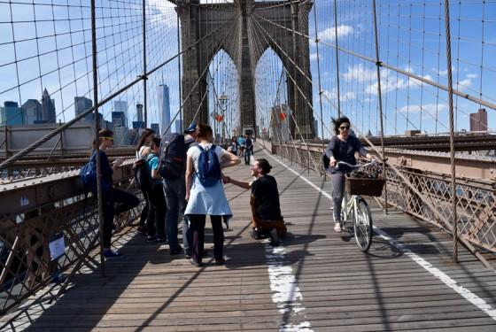 Brooklyn Bridge Sightseeing Bike and rollerblade rental