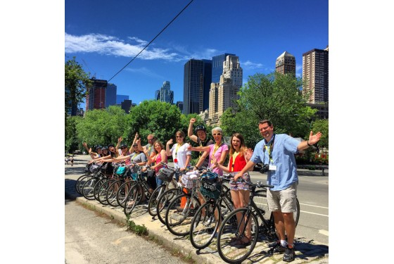 Central Park Sightseeing guided bike tour