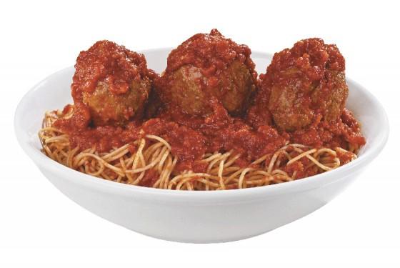 Buca di Beppo Restaurant Spaghetti with meatballs