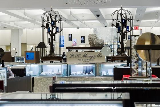 Macy's Herald Square jewelry department