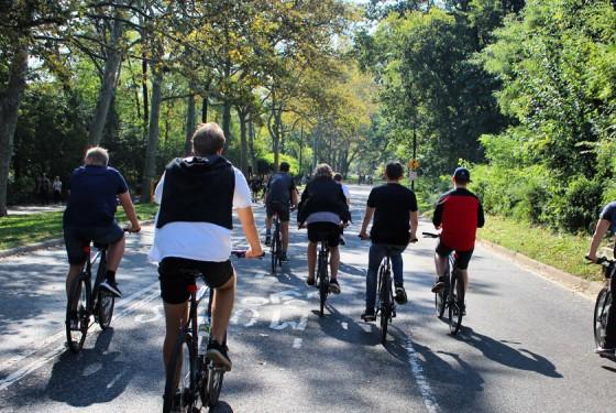 Bike and Roll Inside Central park bike tour
