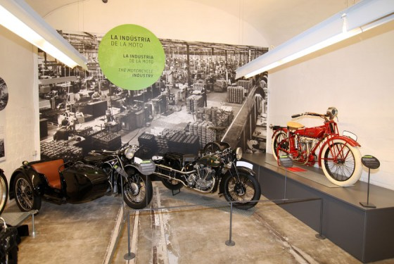 The motorcycle industry at the Museu Moto de Barcelona