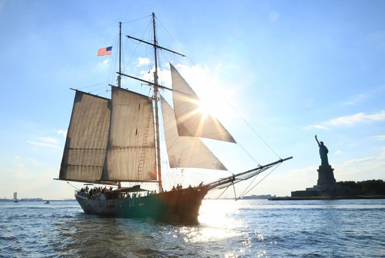 Manhattan by Sail with the Clipper City Tall Ship