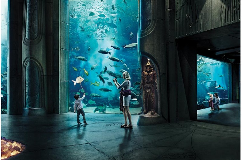 The Lost Chambers Aquarium - for free with the Dubai City Pass